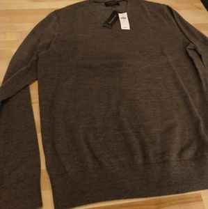Banana Republic dark gray Merino wool sweater